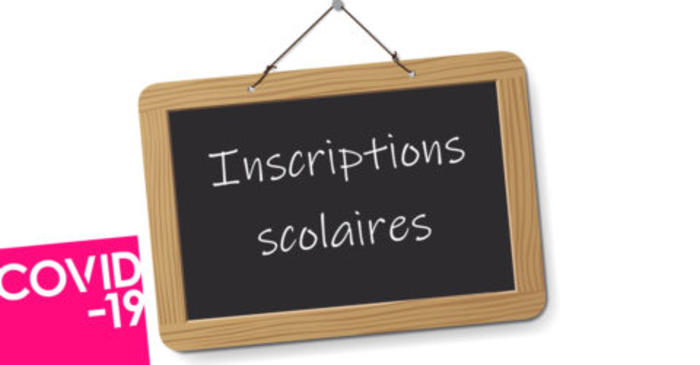COVID-19 : Inscription scolaire 2020-2021