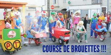 Course brouettes